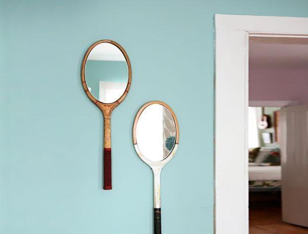 23-idees-originales-de-recyclage-de-vieux-objets-raquette-de-tennis-miroir