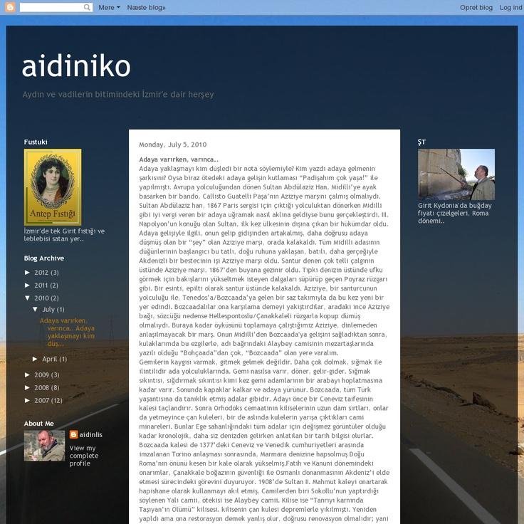 Website 'http://aidiniko.blogspot.com/2010/07/adaya-varrken-varnca.html' snapped on Snapito! // Ada Cafe® Bozcaada