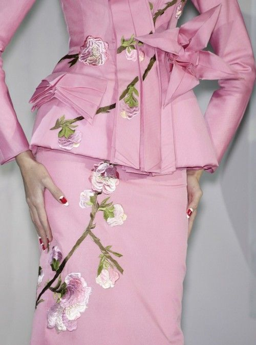 Dior in pink..