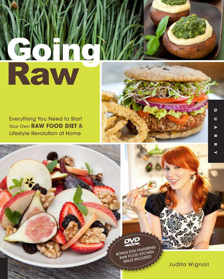 129 best raw vegan books images on pinterest vegan books vegans going raw everything you need to start your own raw food diet and lifestyle revolution at home by judita wignall this combines the flavor of a gourmet forumfinder Choice Image