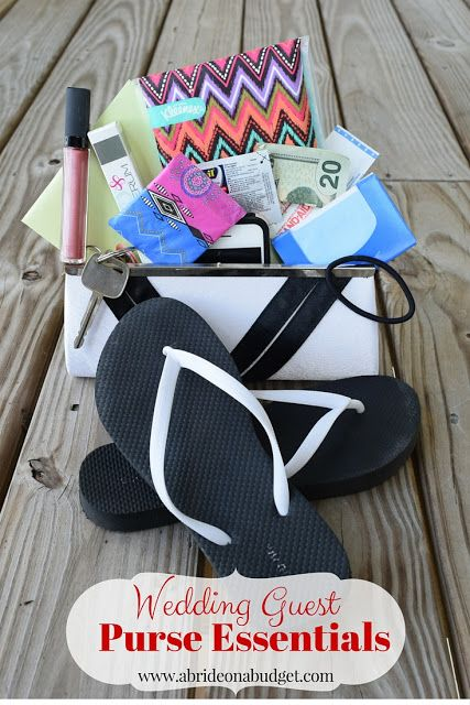 Wedding Guest Purse Essentials - http://www.abrideonabudget.com/2015/09/wedding-guest-purse-essentials.html