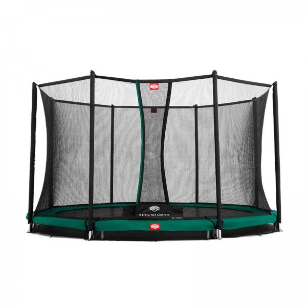 Berg InGround Favorit Gartentrampolin + Sicherheitsnetz Deluxe