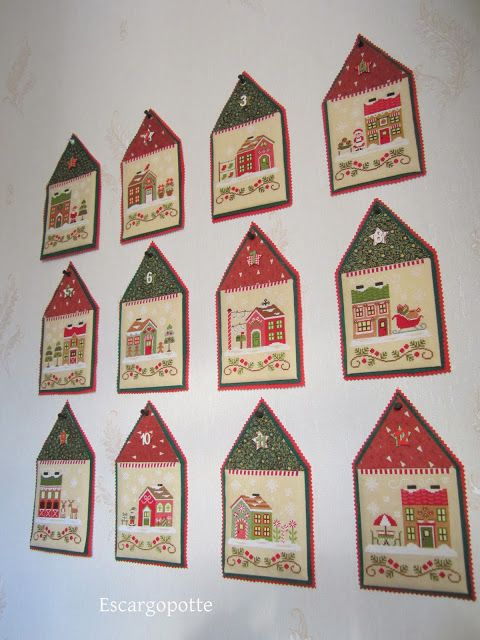 "Country Cottage Needleworks - ""Santa's Village"""