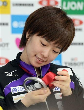 Kasumi Ishikawa  / ZEN NOH 2014 World Team Table Tennis Championships