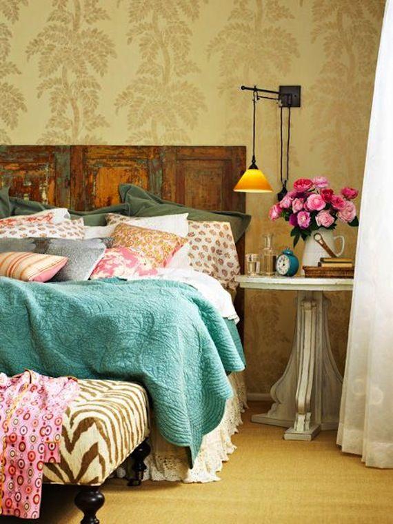 Pretty vintage bedroom  #interior #design #southafrica