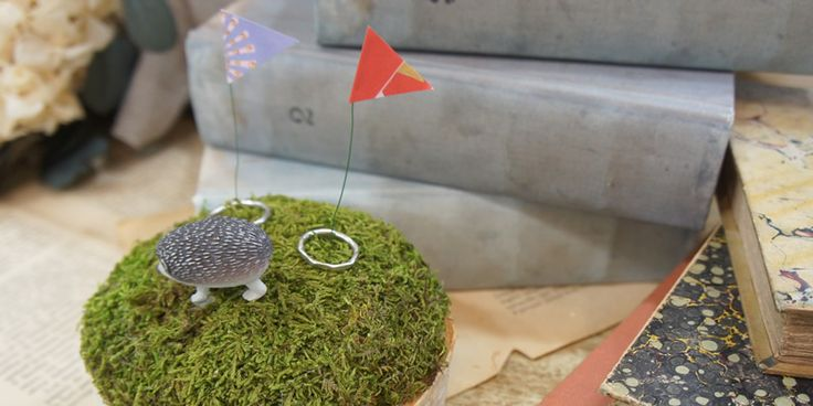 Cui Cui × Cli'O mariageキュイキュイ×クリオマリアージュアニマルリングピロー 手作りキット - ウエディングドレスやアクセサリー、ブーケの通販|Cli'O mariage Online Store(クリオマリアージュオンラインストア)