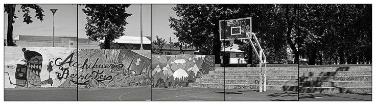 https://flic.kr/p/YHdgvN | ALAMEDA LINARES / Basquetbol II | [Achibueno Resiste]  Linares, noviembre 2016.