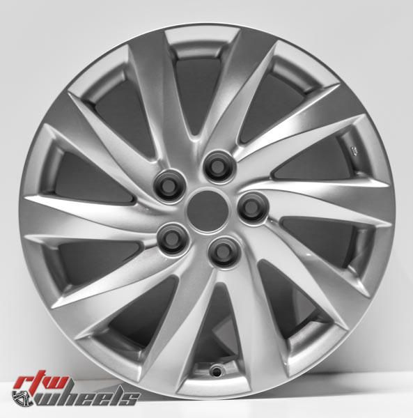 "17"" Mazda 6 oem replica wheels 2011-2013  for rims 64942 - https://www.rtwwheels.com/store/shop/17-mazda-6-oem-replica-wheels-for-sale-rims-aly64942u20n/"
