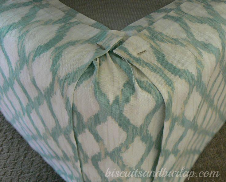DIY Custom Bed skirt