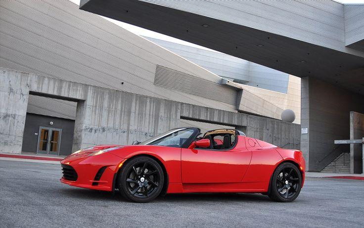 Tesla Roadster Wallpaper Images