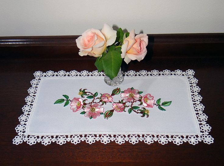 Briar Rose Embroidery design by Sue Box from the Golden Classic Collection