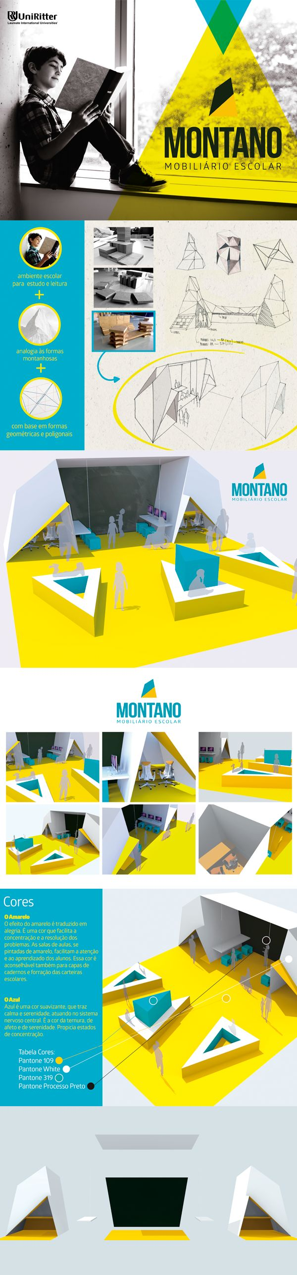 Montano | Mobiliário Escolar on Behance