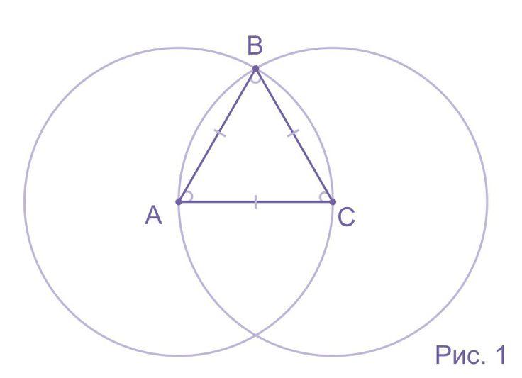 Статья посвящена равностороннему треугольнику и его основным свойствам. В ней, так же, приведены все основные формулы, которые могут понадобиться при работе с ним.