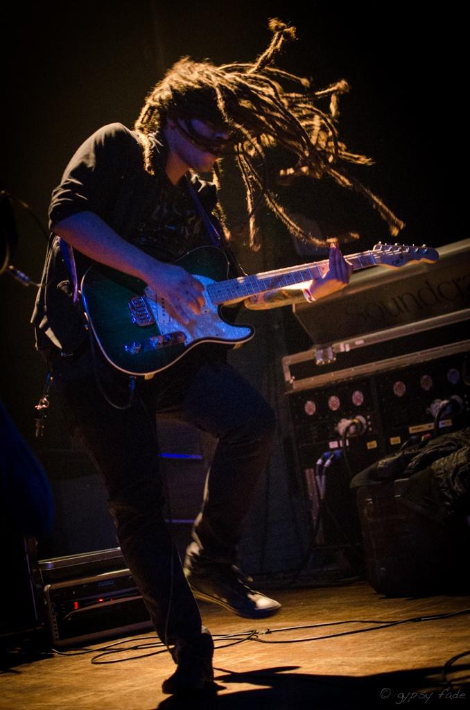 Nelson- #guitar #guitarists #dreads #dreadlocks #band #bands #music #cromwellmusic