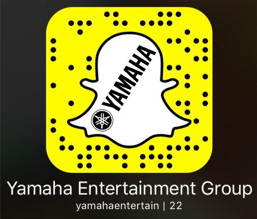 #Follow @yamahamusicusa @ #Snapchat! #User: #yamahaentertain. #Audio #DAW #Engineering #Interfaces #Music #NAMM #PASystems #PowerAmps #ProAudio #Processors #Recording #Snapcode #Speakers #Yamaha #YamahaEntertainmentGroup www.yamahaproaudio.com