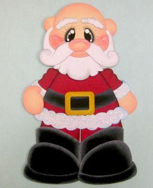 ¡Simpático Noel mostrando su calva, jaja!