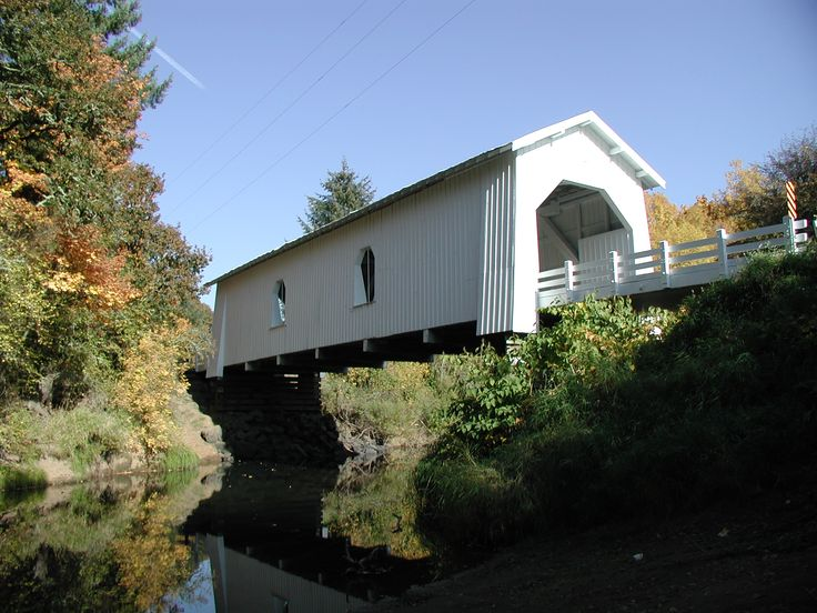 Bridge Engineering Oregon Covered Bridges