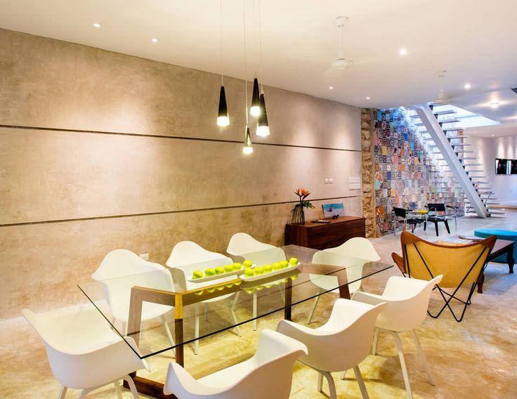 17 ideas para revestir las paredes de tu comedor