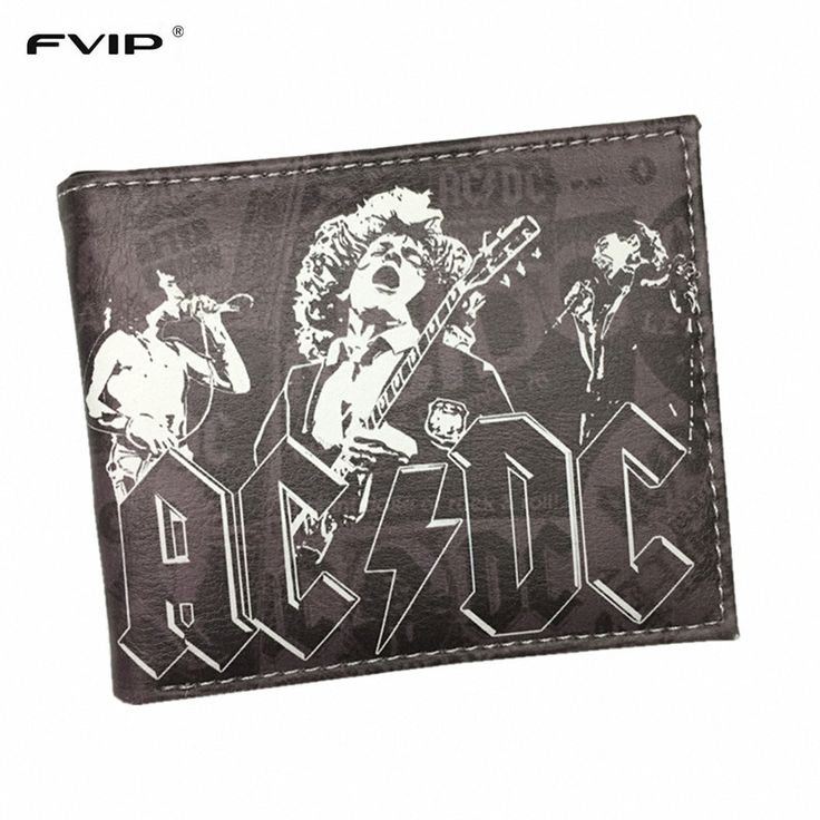FVIP Wallet of Classic Rock and Roll Orchestra Megadeth /Metallica /Nirvana /Gun's Roses /The Beatles and Rolling Stones Wallets
