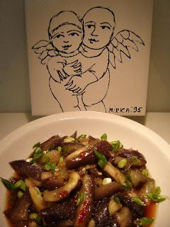 Thermomixer: Chinese Steamed Eggplant in Thermomix Varoma