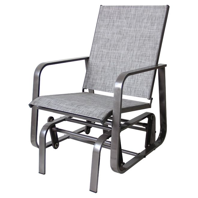 Rocking Patio Chair - Manhattan - Taupe