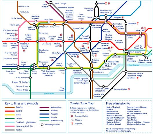 This tourist Tube map is useful and depressing all at once – Now. Here. This. – Time Out London