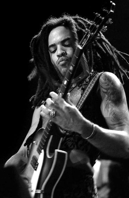 Lenny Kravitz...long hair, short hair, young, old...he is ALWAYS sexy