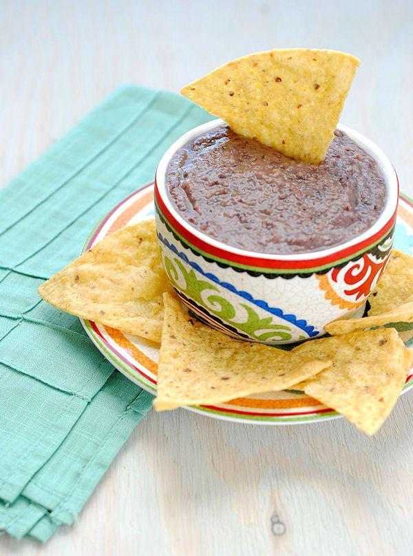 chipotle black bean dipMeatless Mondays, Easy Recipe, Black Beans Dips, Chipotle Black Beans, Cinnamon Almond, Bean Dip, Healthy Dips, Gluten Free, Mr. Beans