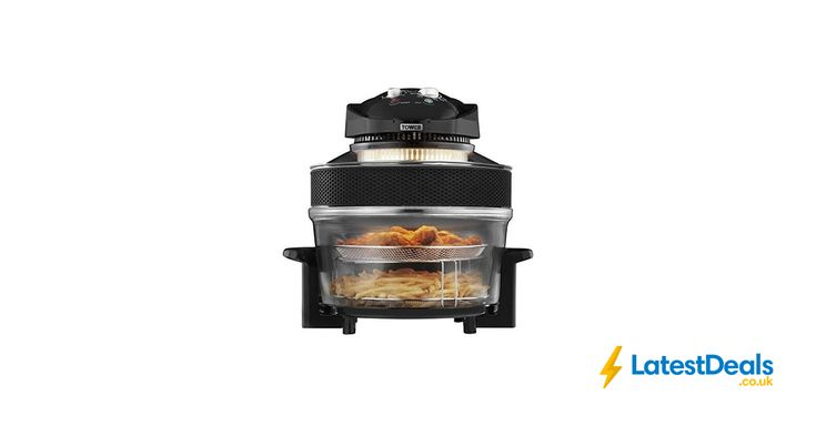 New 1300W Tower Airwave Low Fat Air Fryer 17 Litre Capacity 5L Extender Ring., £39.99 at Amazon