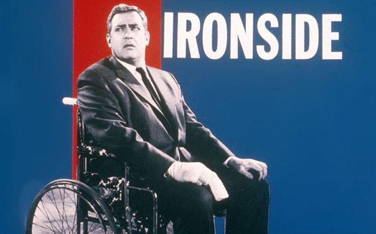 Raymond Burr earned six Emmy and two Golden Globe nominations for his role as Chief of Detectives Robert T Ironside. It was an enlightened programme for the time, in that it showed a fine detective who was in a wheelchair, having been left paralysed by a sniper's bullet.