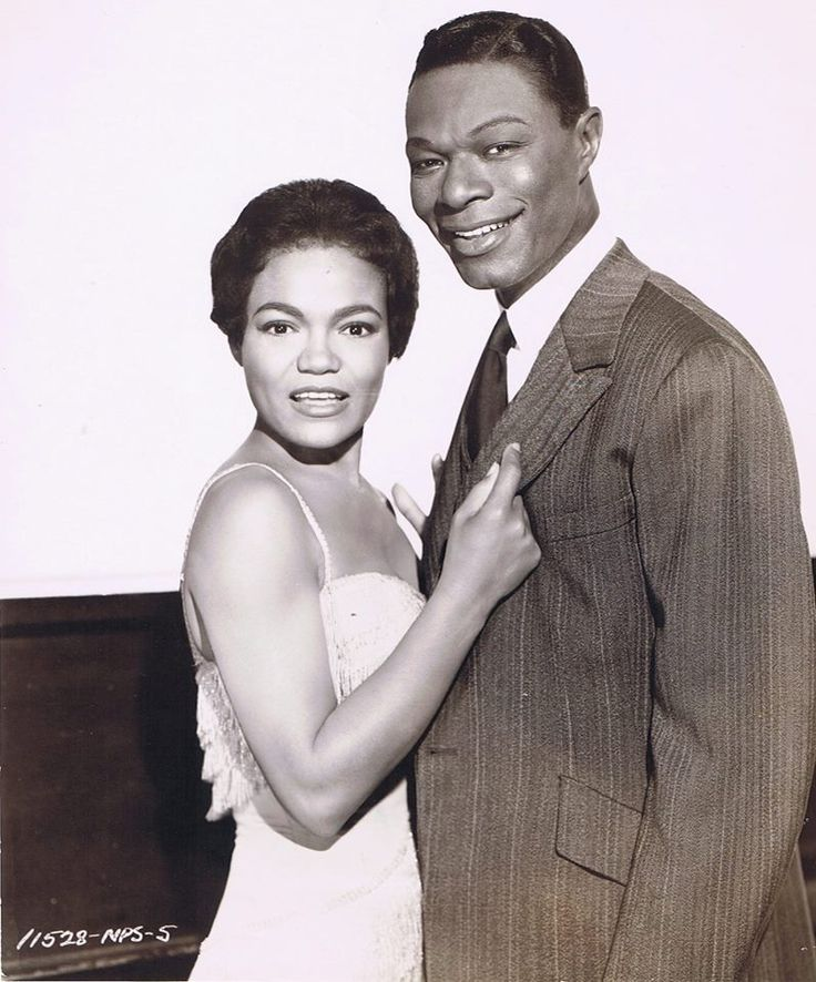 "Eartha Kitt and Nat ""King"" Cole"
