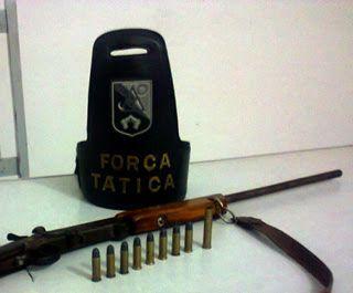 Espingarda calibre 40 e munições são apreendidas em Água Branca -PB | S1 Noticias