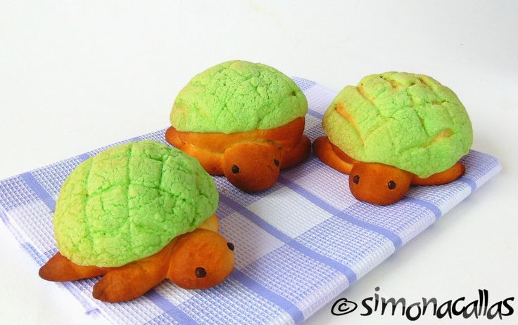 Sweet Turtle Buns