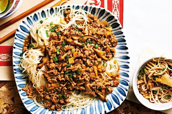 Spicy+Taiwanese-Style+Noodles