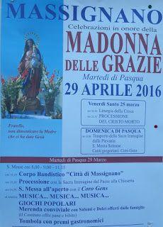 "massignanonews: Programma festa ""MADONNA DELLE GRAZIE"""