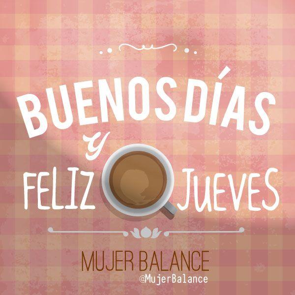 Sé feliz con lo que tienes mientras persigues lo que deseas. ¡Feliz jueves!  www.mujerbalance.com