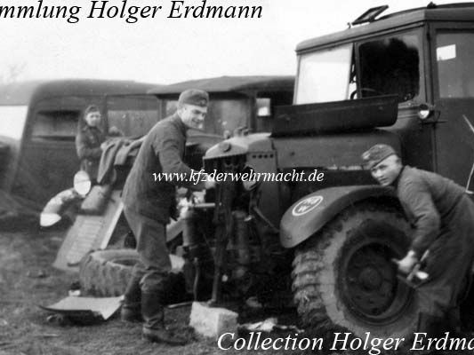 Crossley Indian Government Lorry IGL3. Some still in use in 1940 and captured by Wehrmacht .