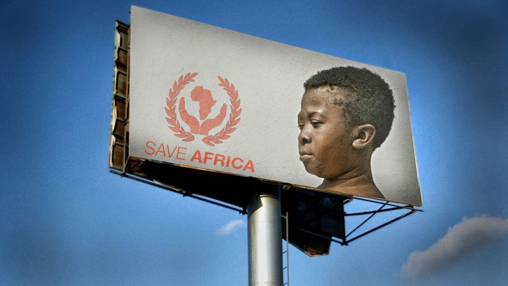 """Let's save Africa! - Gone wrong   LMAOOO....OOO! ... """"Stereotypes HARM Dignity!"""""""