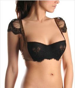 La Perla w shoulders. I wish this was available in large cup sizes.