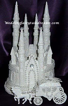 cinderella wedding cake topper cinderella castle cake topper 6 my wedding 2954