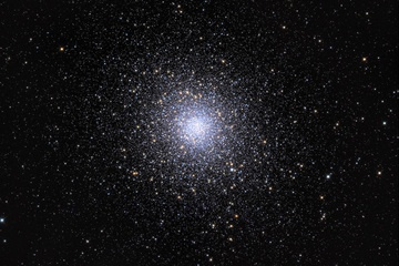 Adam Block took this image of globular star cluster Messier 5 at Mt. Lemmon SkyCenter, University of Arizona in March, 2012. Block used a SBIG STX CCD Camera, 32-inch Schulman Telescope (RC Optical Systems) and AstroDon Gen II filters.                                           CREDIT: Adam Block/Mount Lemmon SkyCenter/University of Arizona www.caelumobservatory.com