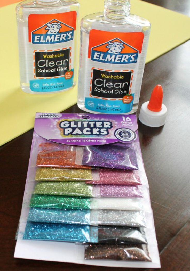 Glitter glue is fantastic for so many projects! Find out how to make your own with this fun tutorial.