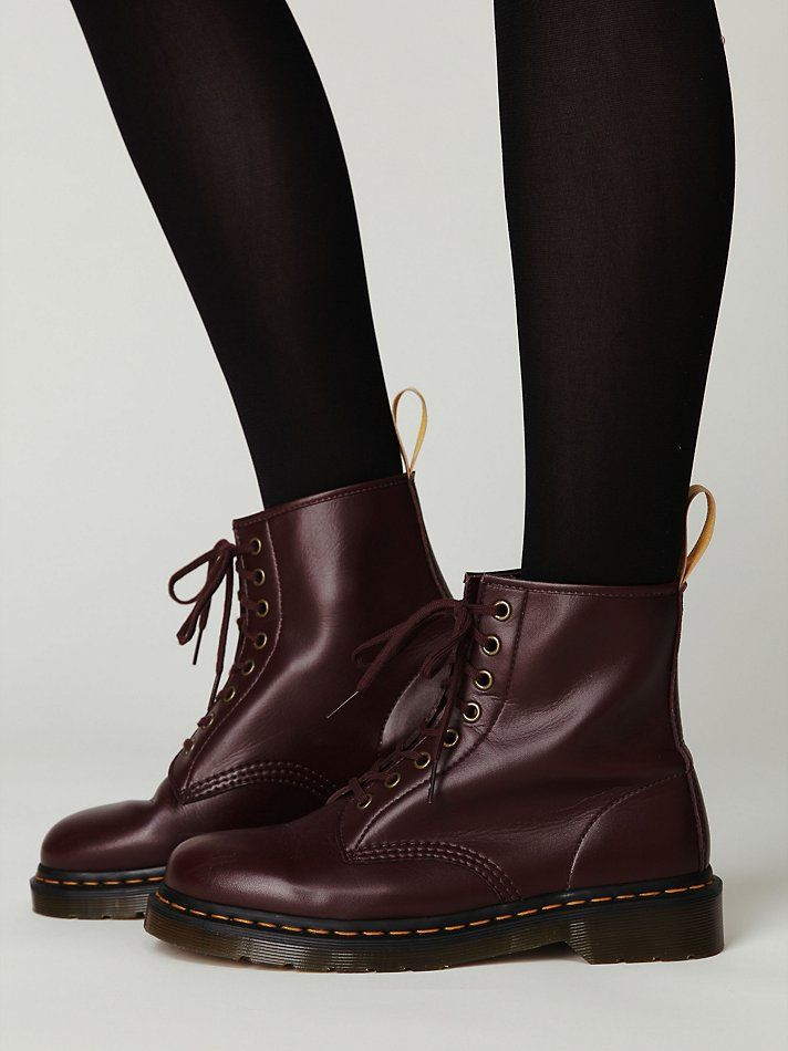 Got these for Xmas and they're awesome. Dr. Martens Vegan Docs.