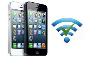 Problème wifi iPhone 5