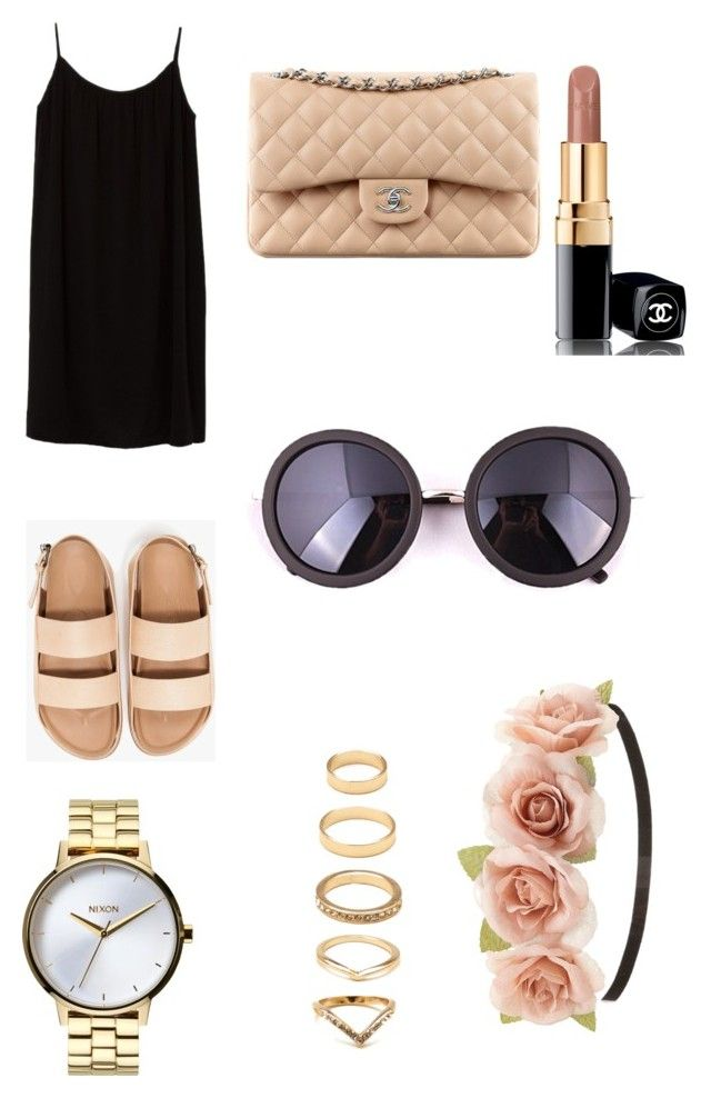 Outfit #8 by dianatairum on Polyvore featuring Azalea, Nixon, Forever 21, Charlotte Russe and Chanel