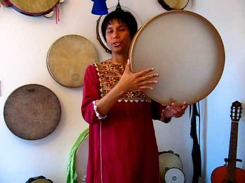 Demo #1 Frame Drum & Melodic Vocal by Miranda Rondeau - YouTube