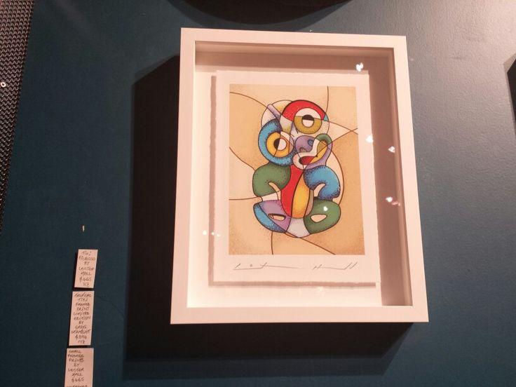 Modern tiki art