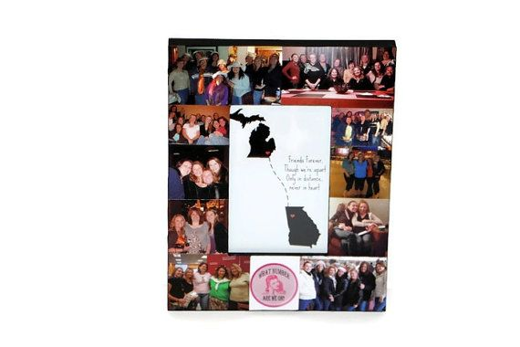 Long Distance Best Friend Frame State to by InitialRemembrance