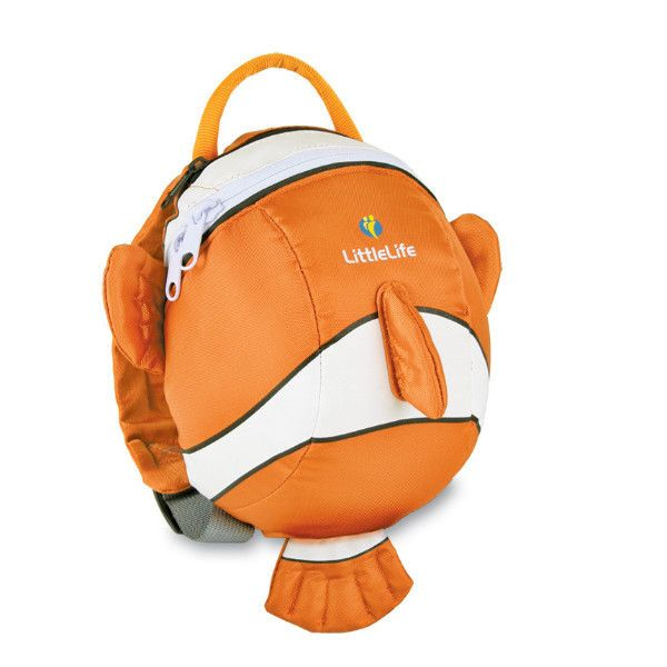 Little Life Animal Daysack - Clownfish http://pumpkinpiekids.com/collections/travel-gear/products/animal-daysack-clownfish