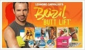 Trainer to world-famous supermodels, Leandro Carvalho combines Brazilian dance, cardio, and his own signature lower-body sculpting moves to lift, firm, and shape your behind for a rear view youve only dreamed about. health-and-fitness healhy-diets flat-abs